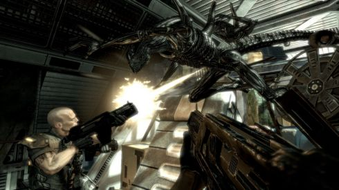 Превью к игре Aliens vs. Predator (2010)