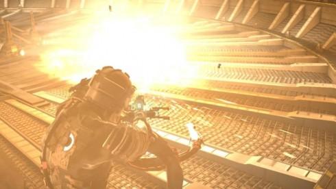 А взрывы-то киношные!