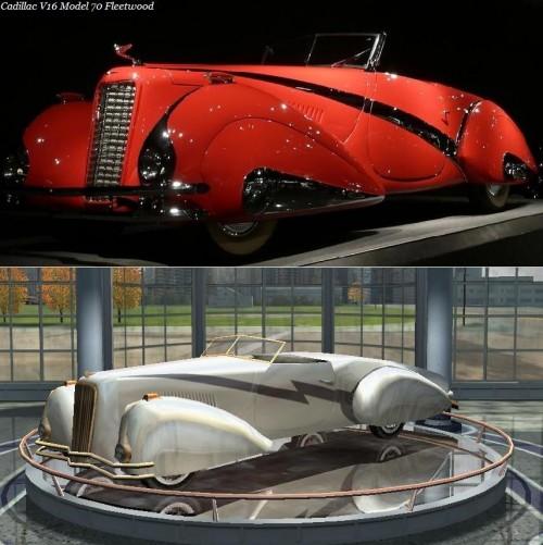 Cadillac V16 Model 70 Fleetwood