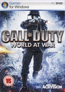 Коды к игре Call of Duty: World at War