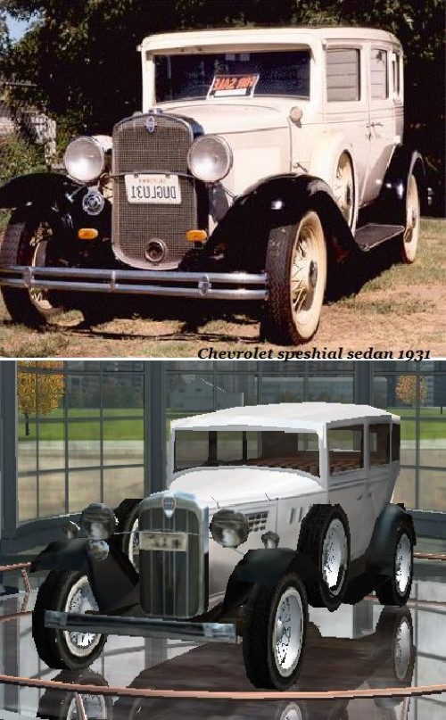 Chevrolet speshial sedan 1931