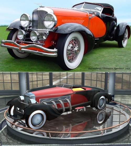 Duesenberg J Weimann Speedster 1931