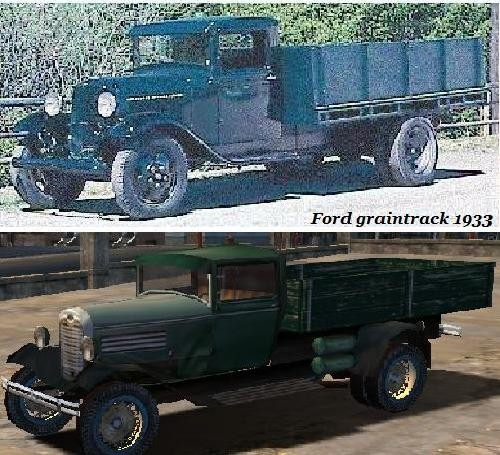 Ford graintrack 1933