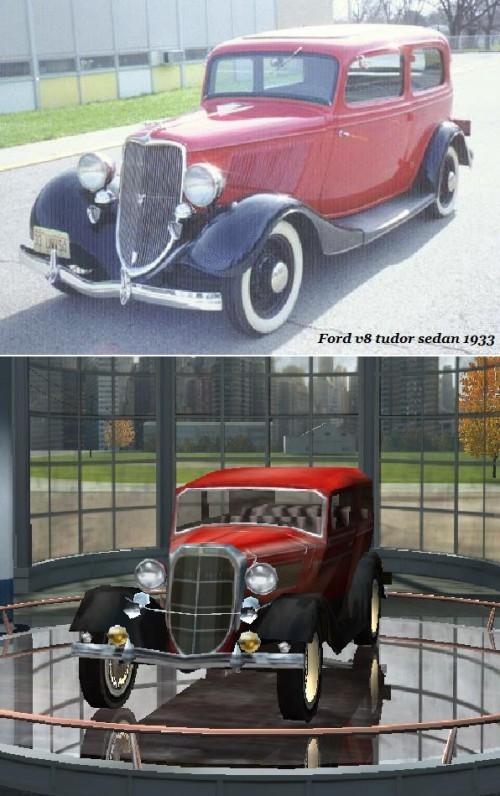 Ford v8 tudor sedan 1933