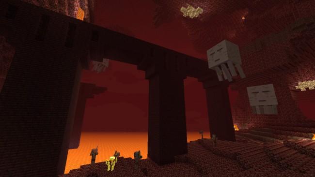 Minecraft Нижний мир