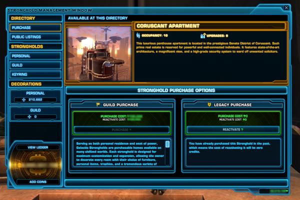 Kредиты в Star Wars The Old Respublic