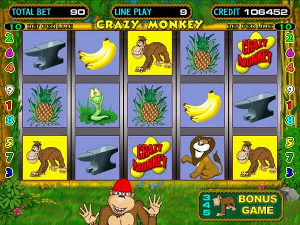Безумная обезьяна или классика игровых автоматов